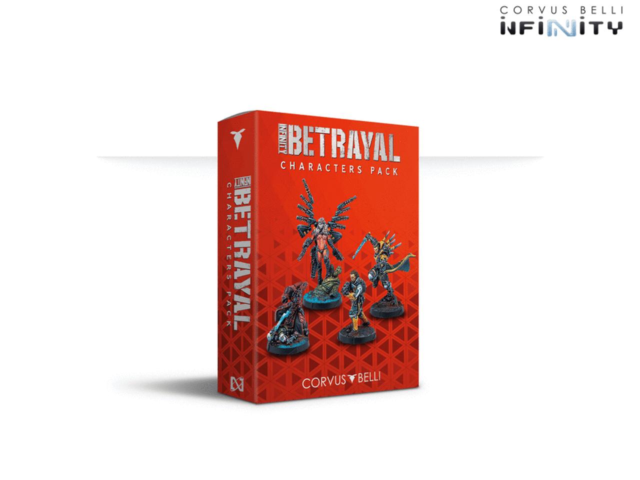 Infinity Characters - Betrayal Characters Pack
