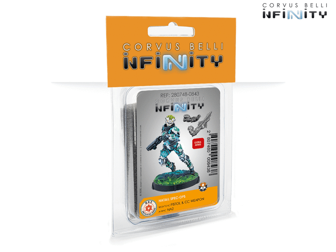 Infinity Hatail Spec-Ops - NA2 / Spiral Corps / Tohaa