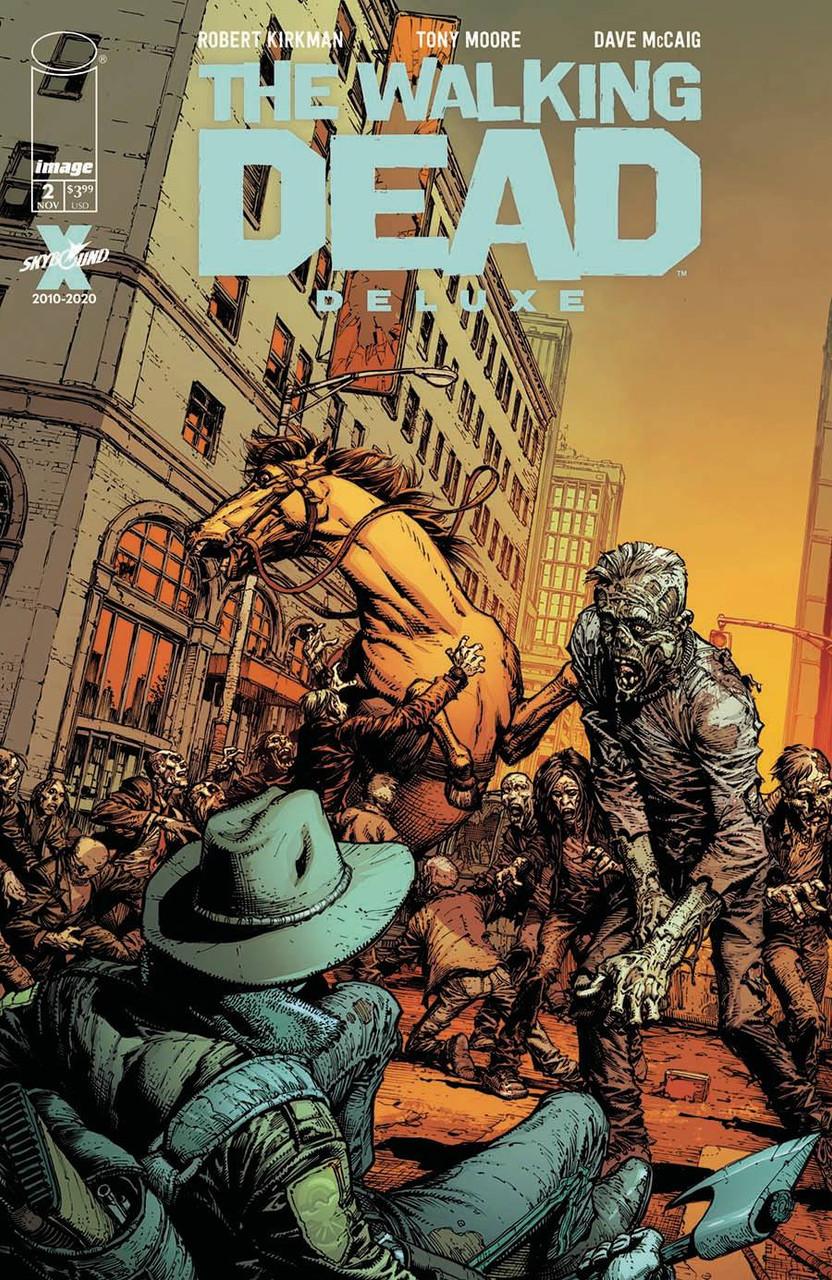 Walking Dead Deluxe #2 - Regular Cover - Finch & McCaig