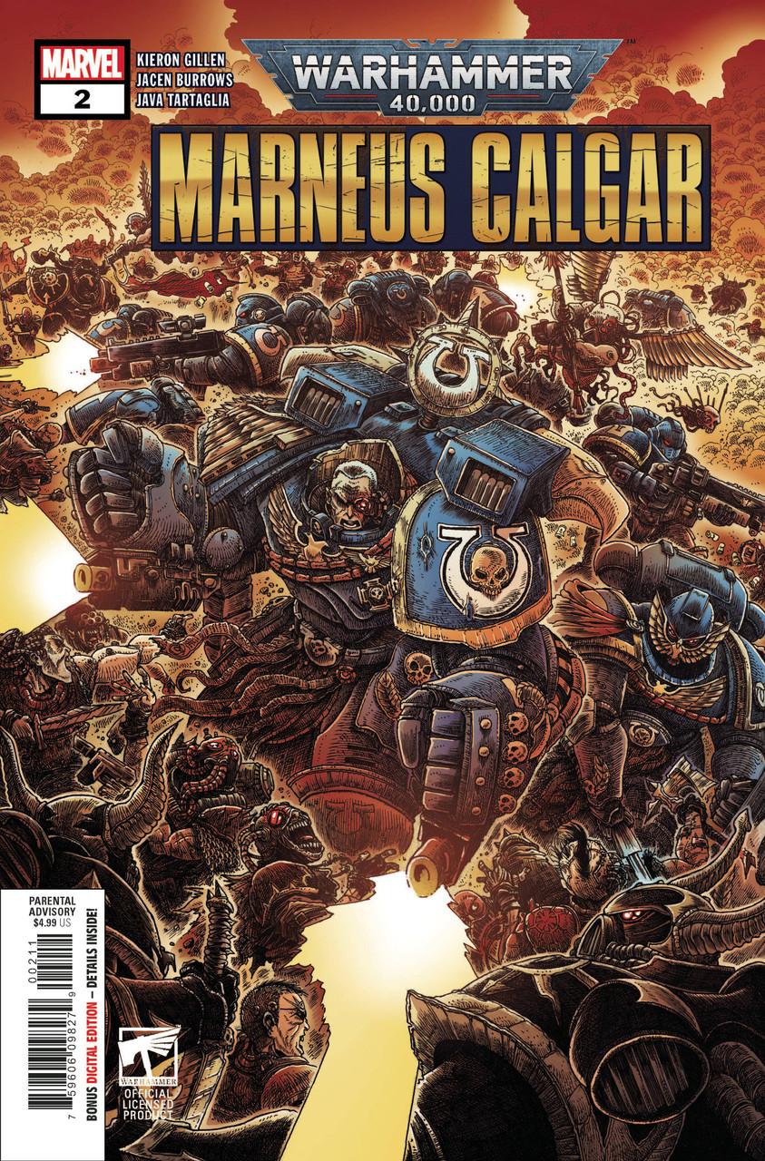 Warhammer 40k - Marneus Calgar #2 - Regular Cover