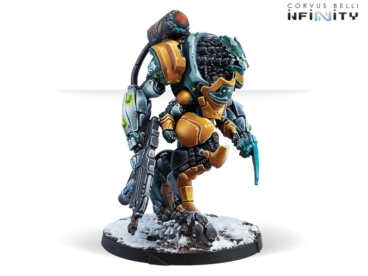 Infinity CodeOne Blue Wolf Mongol Cavalry (TAG) - Yu Jing