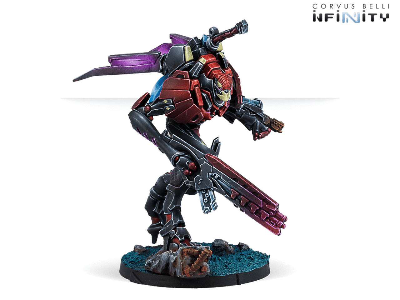 Infinity CodeOne Shasvastii Special Armored Corp Sphinx (TAG) - Combined Army