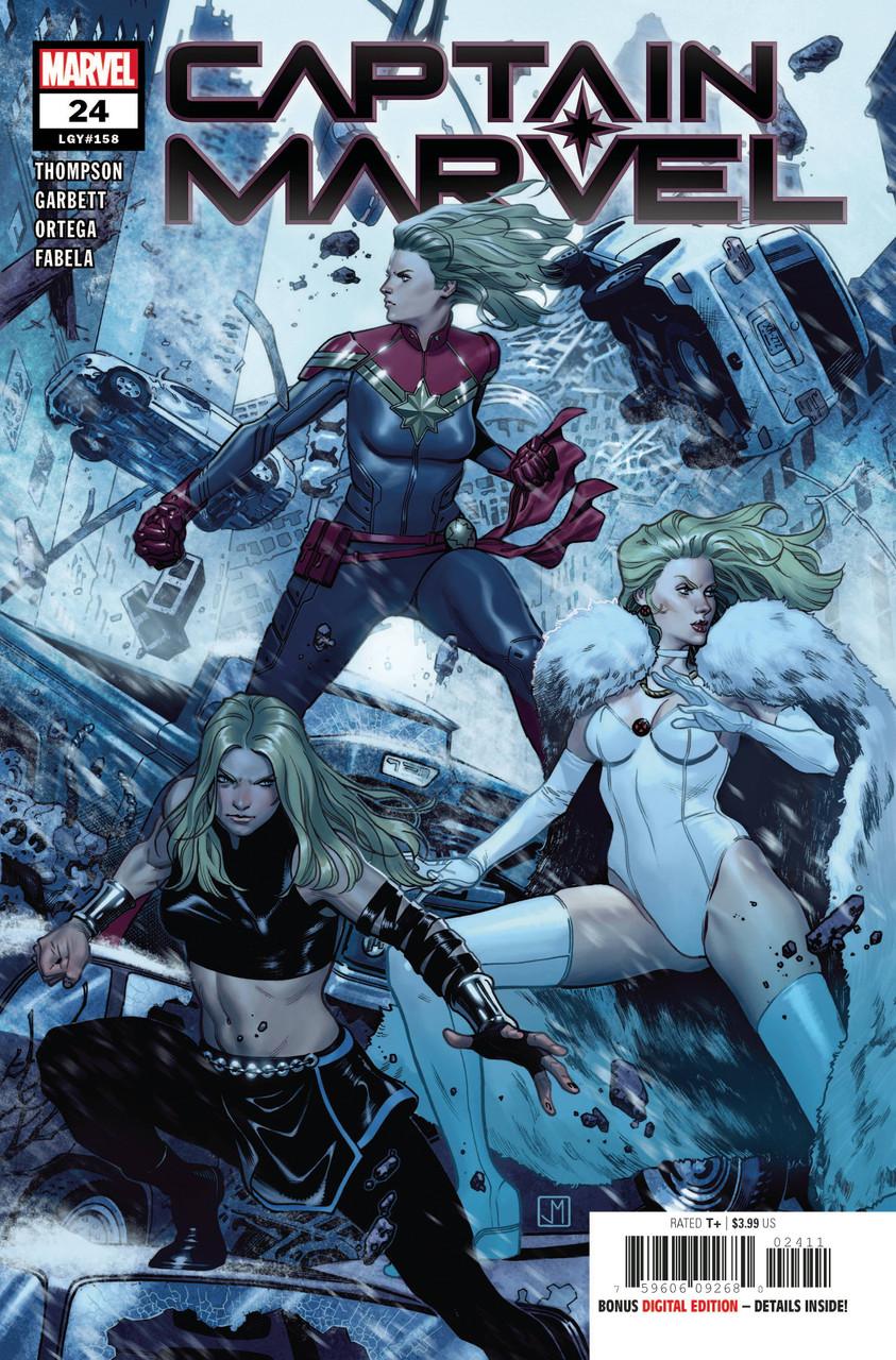 Captain Marvel #24 - Vol 9 - Regular Cover