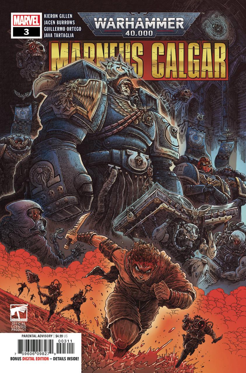 Warhammer 40k Marneus Calgar #3 - Regular Cover
