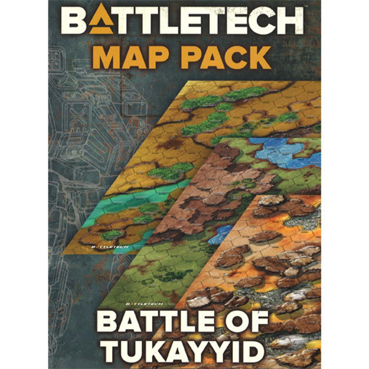 Battletech: Battle of Tukayyid Map Pack