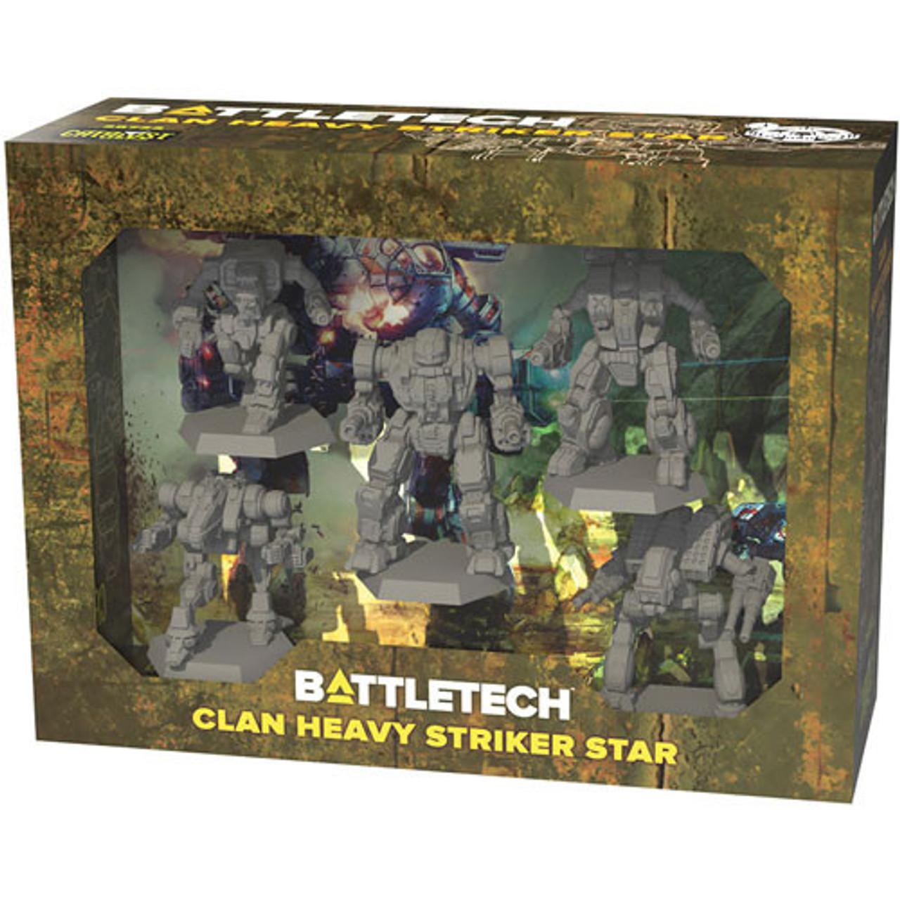 Battletech: Clan Heavy Striker Star Miniature Set