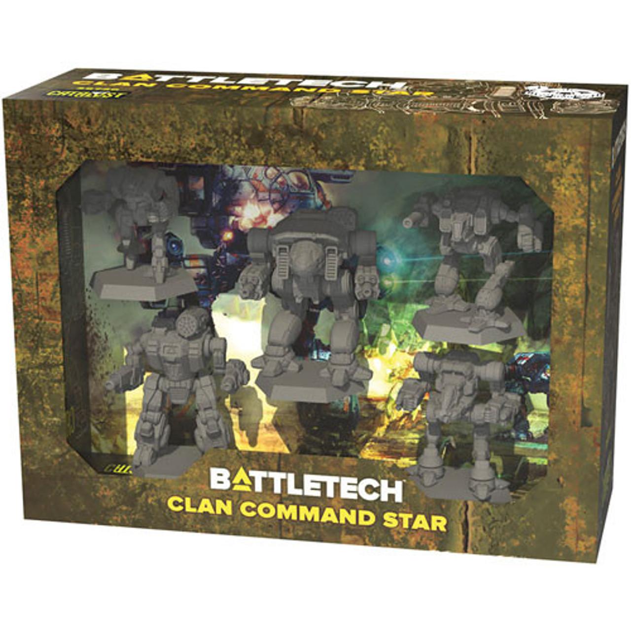 Battletech: Clan Command Star Miniature Set