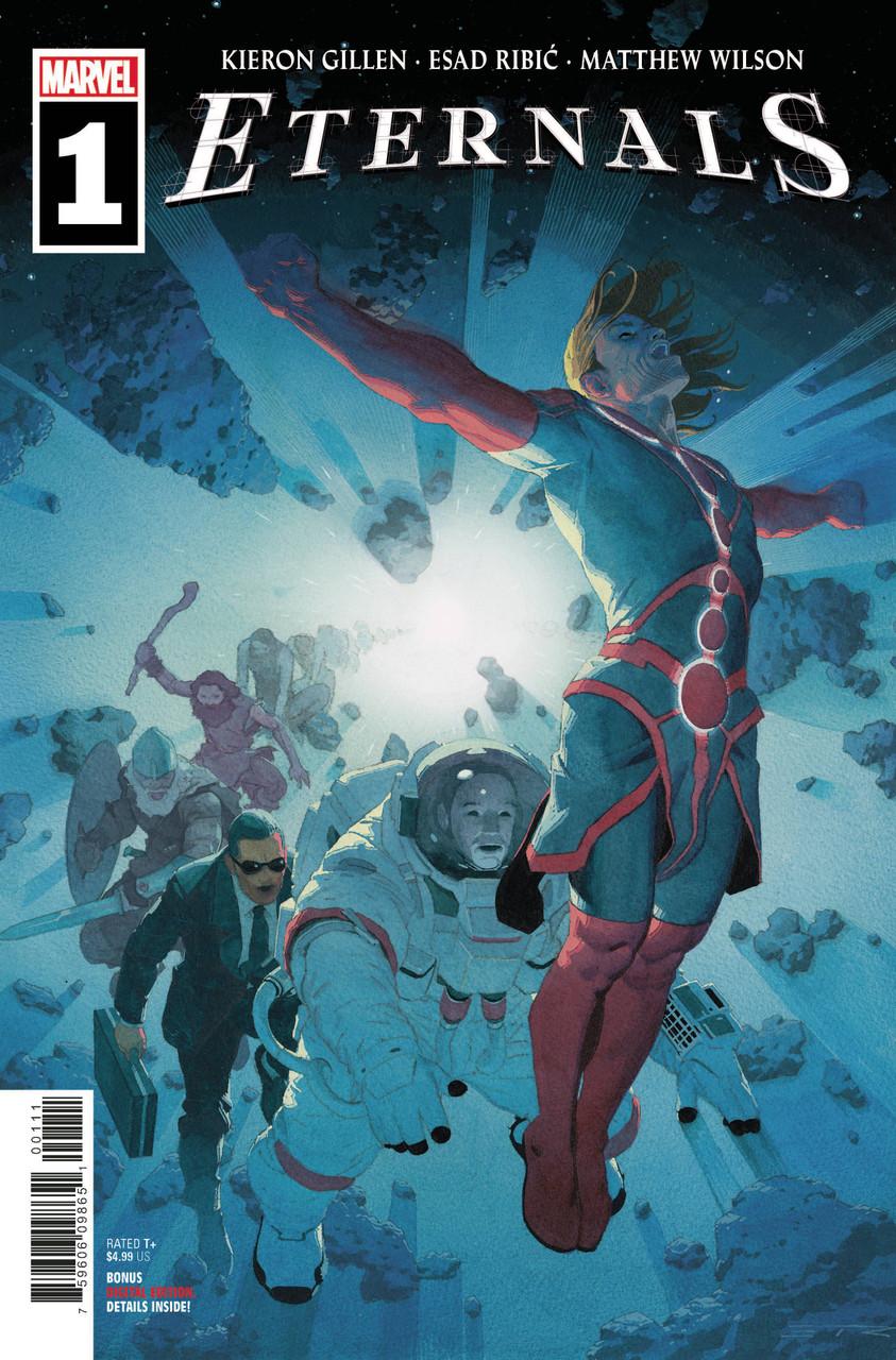 Eternals #1 - Regular Cover