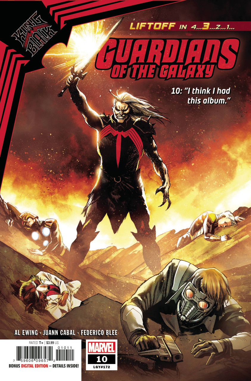 Guardians of the Galaxy #10 - King in Black