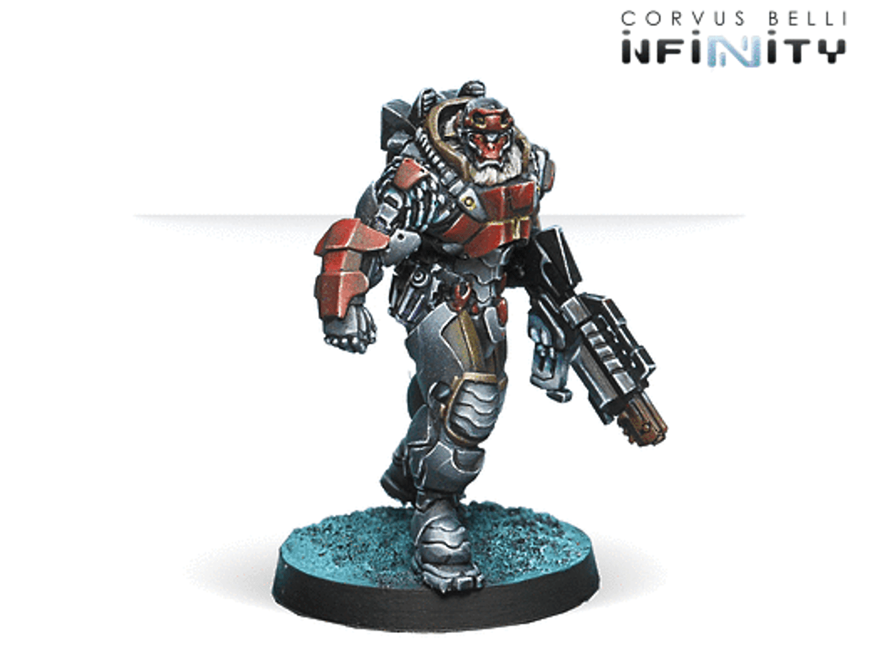 Infinity Yaogat Strike Infantry - Combined Army
