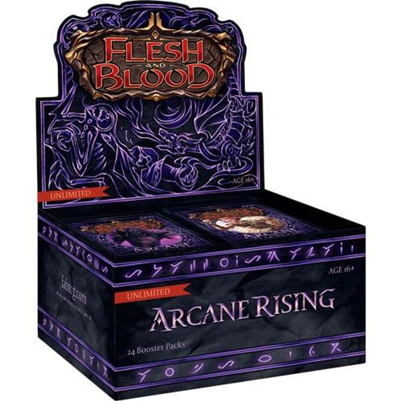 Flesh and Blood - Arcane Rising Booster Box - Unlimited