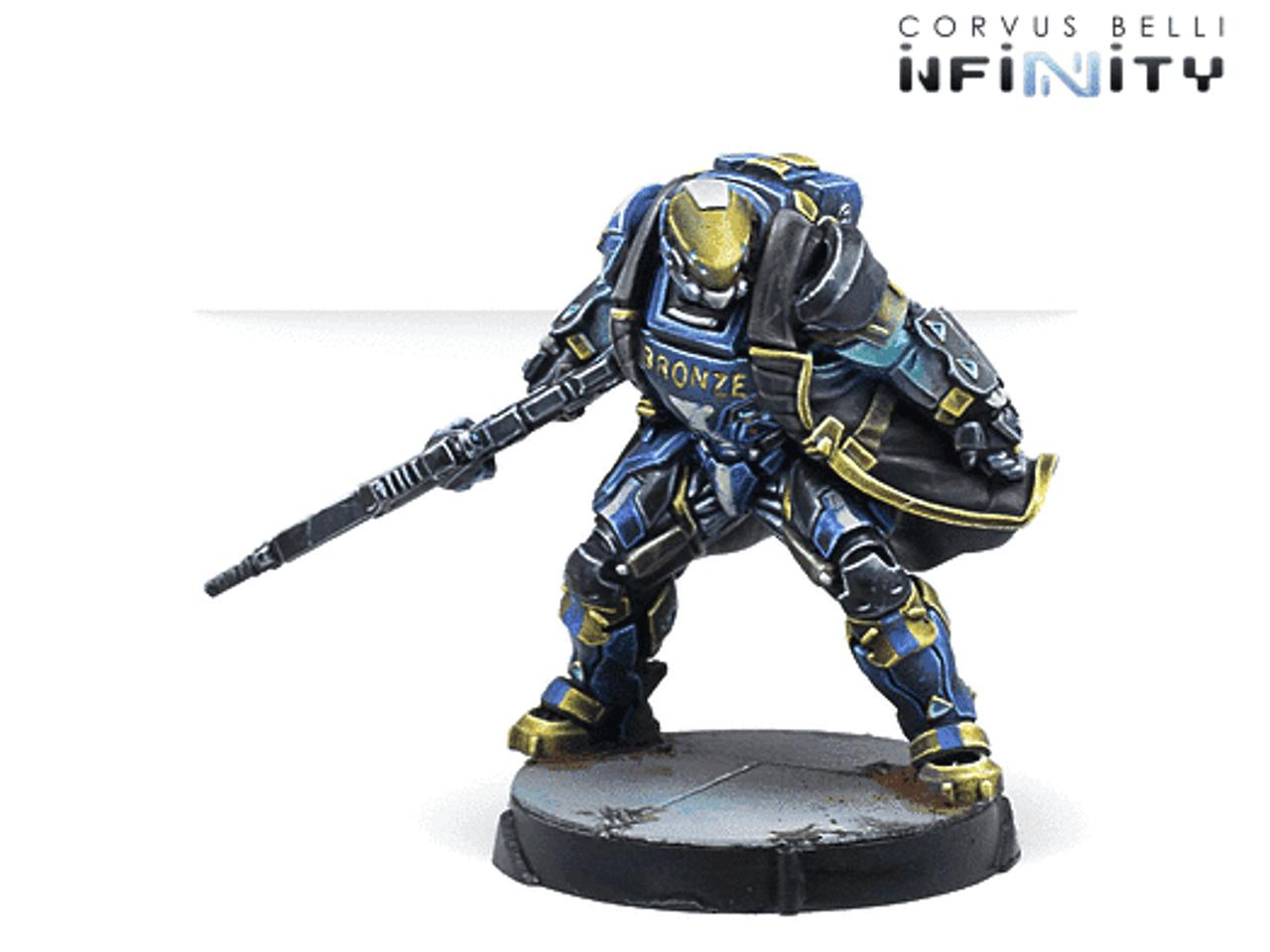 Infinity Nyoka Assault Troops - O-12