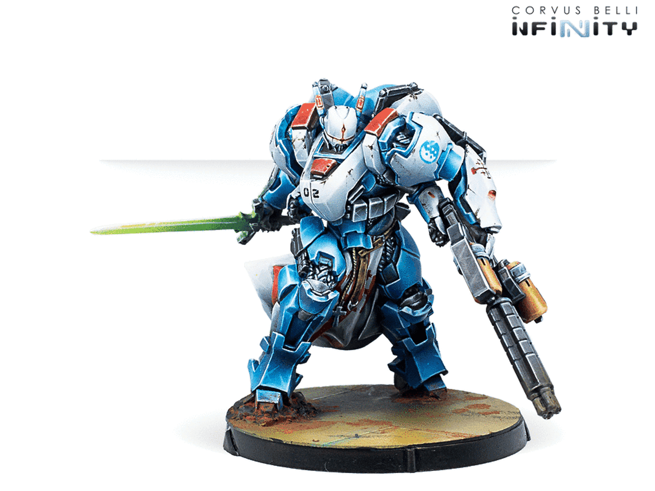 Infinity PanOceania Military Orders Action Pack