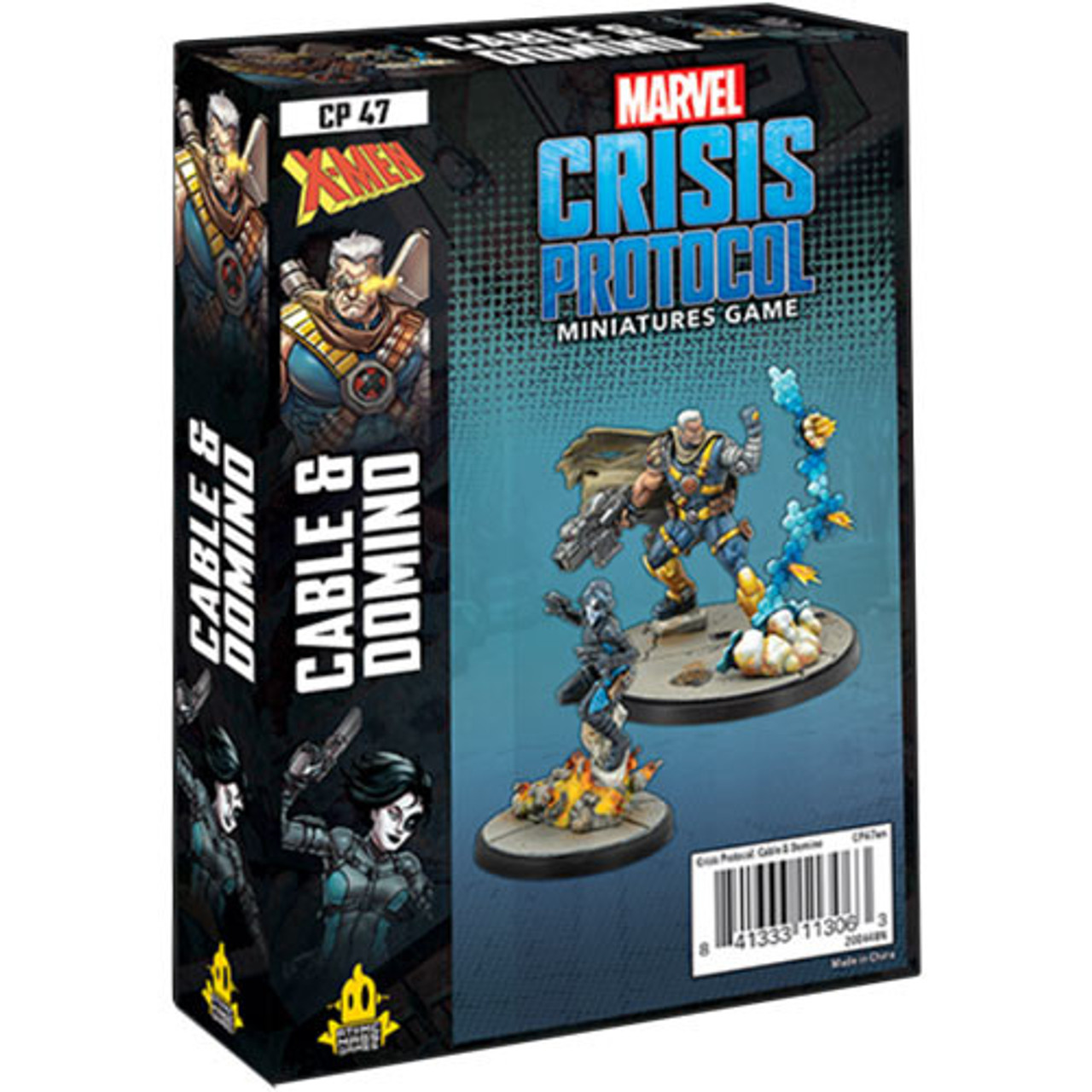 Marvel Crisis Protocol - Domino & Cable Character Pack