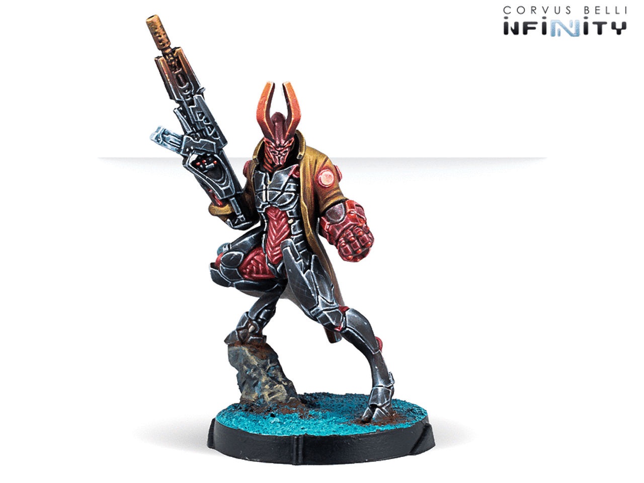 Infinity CodeOne Agent Dukash (Multi Rifle) - Combined Army