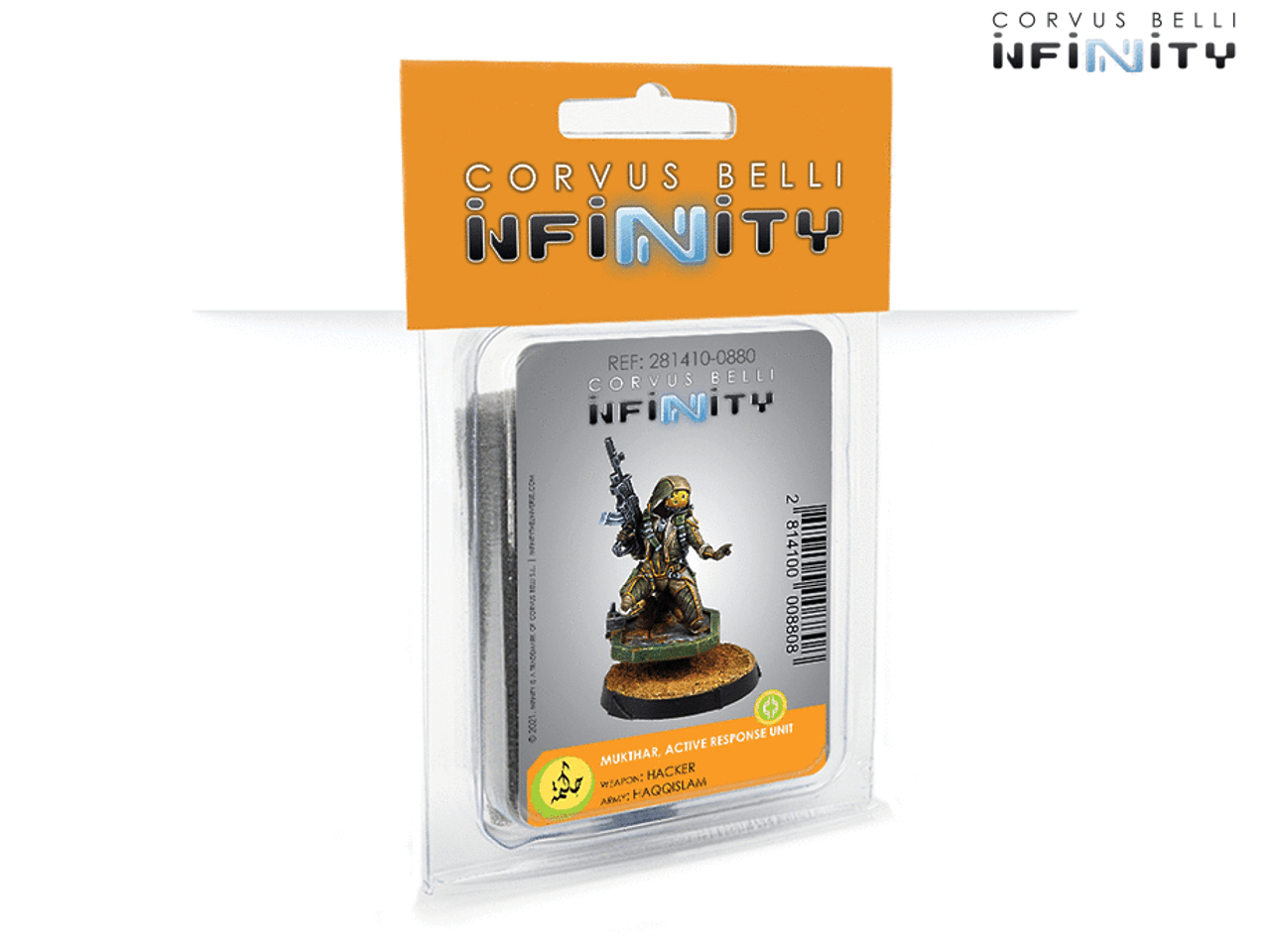 Infinity Mukthar, Active Response Unit - Haqqislam