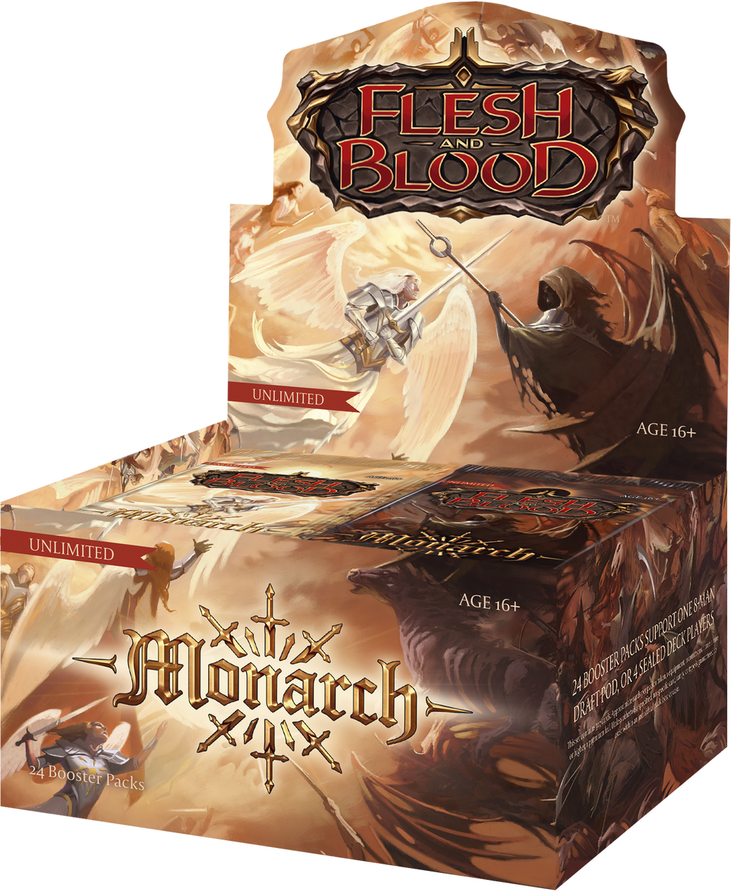 Flesh and Blood - Monarch Booster Box - Unlimited
