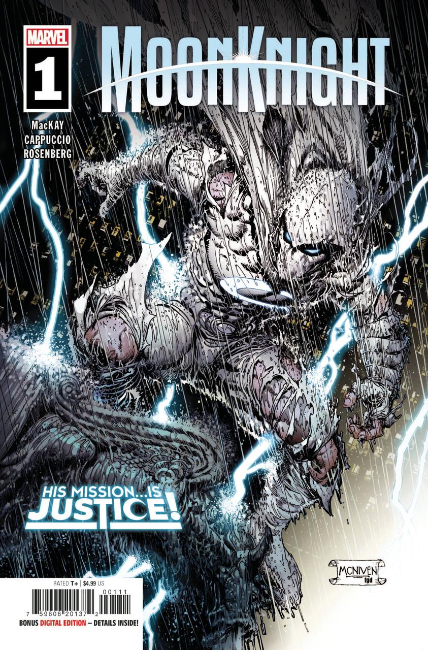 Moon Knight #1 - Regular Cover