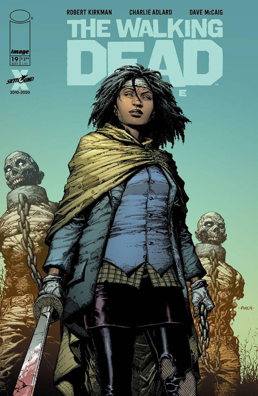 Walking Dead Deluxe #19 - Reguler Cover - Finch & McCaig