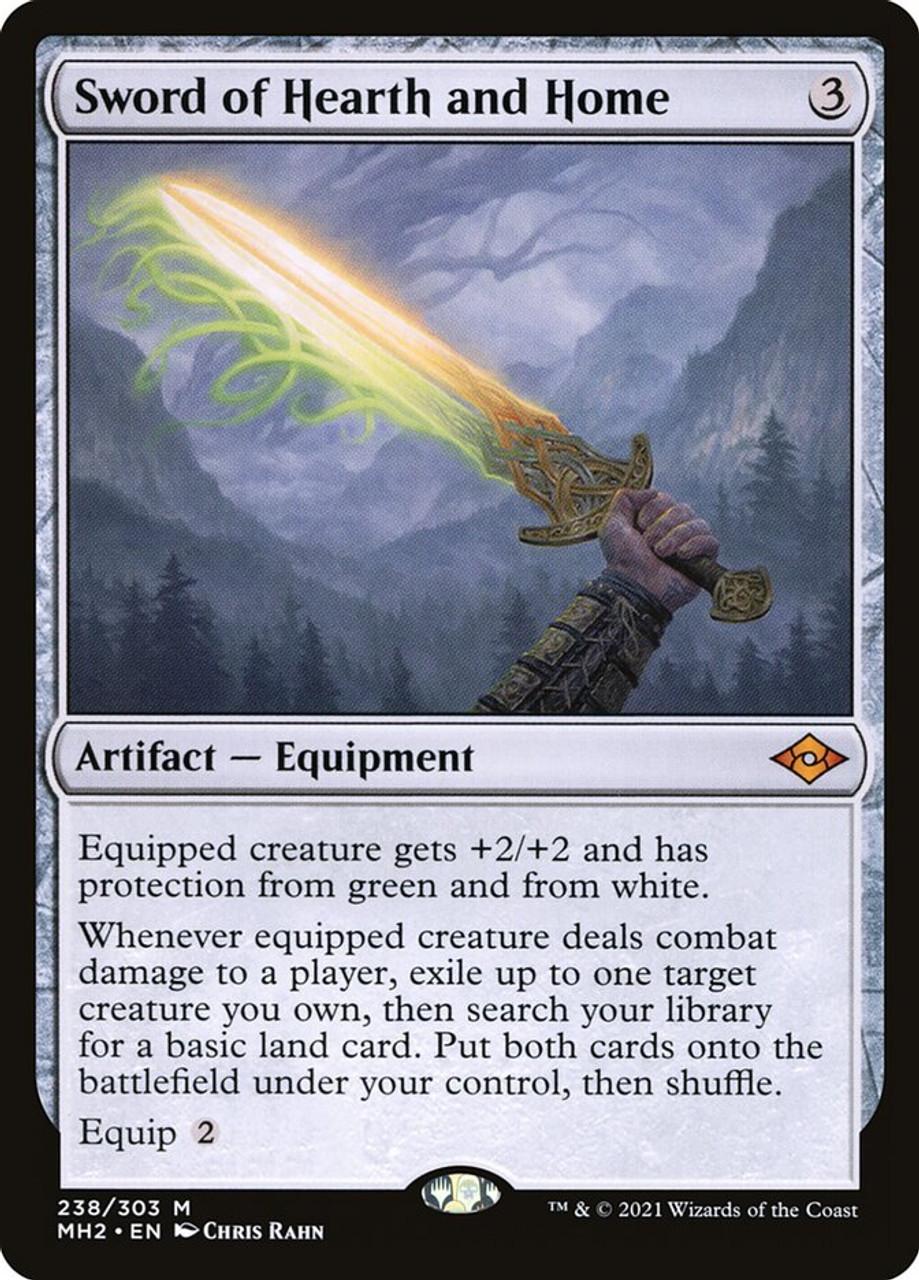 Sword of Hearth and Home - MTG Modern Horizons 2 - 238 - NM Pack Fresh