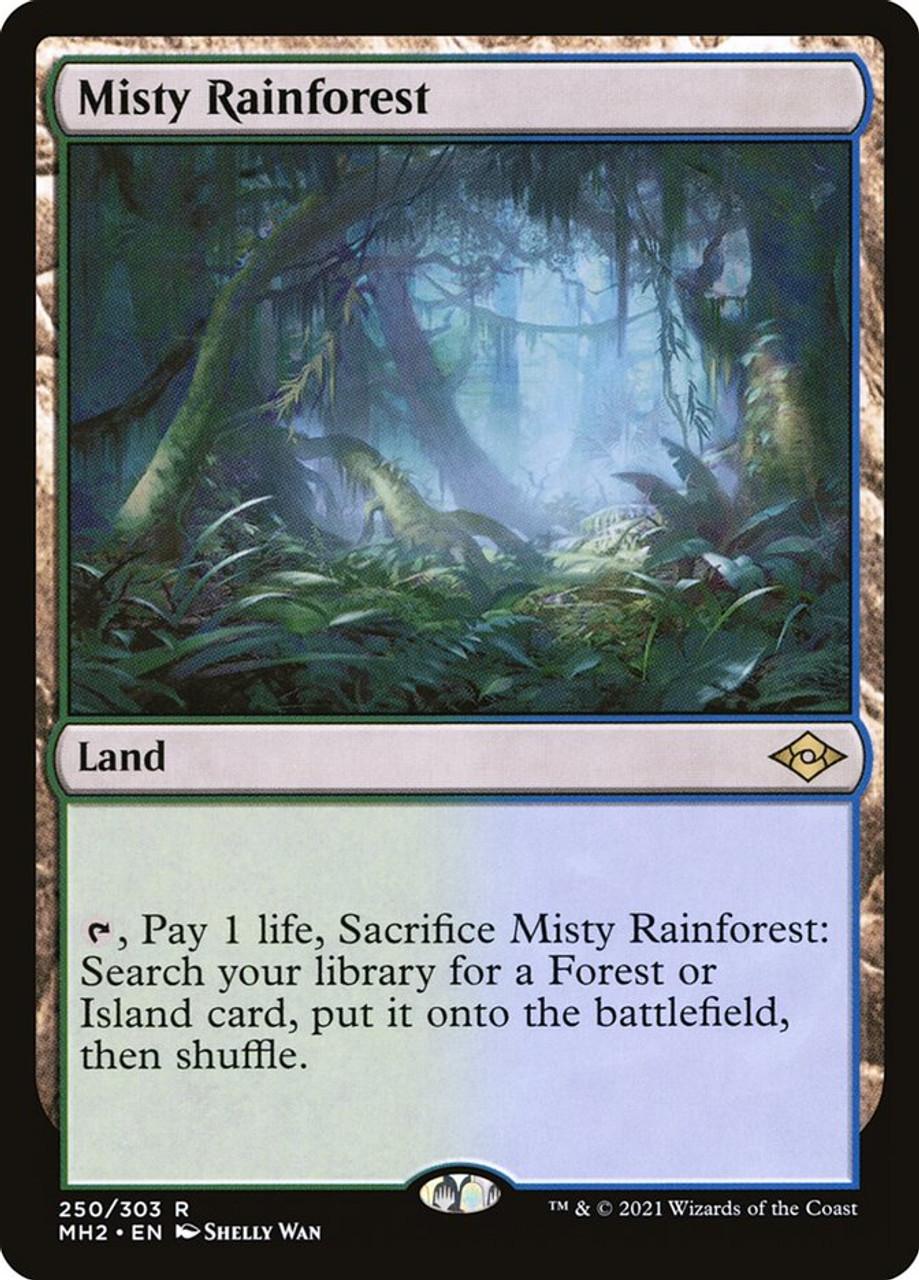 Misty Rainforest - MTG Modern Horizons 2 - 250 - NM Pack Fresh