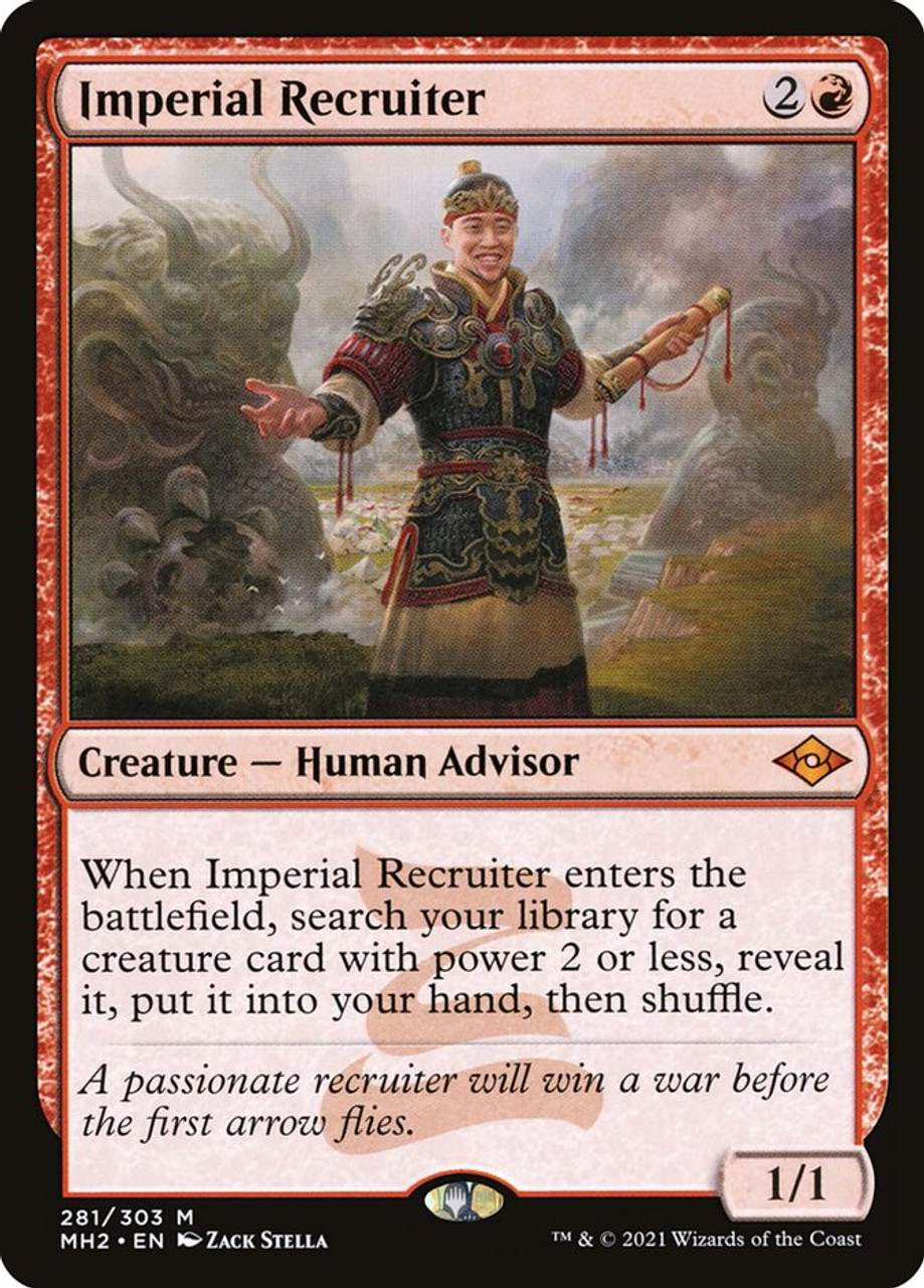 Imperial Recruiter - MTG Modern Horizons 2 - 281 - NM Pack Fresh