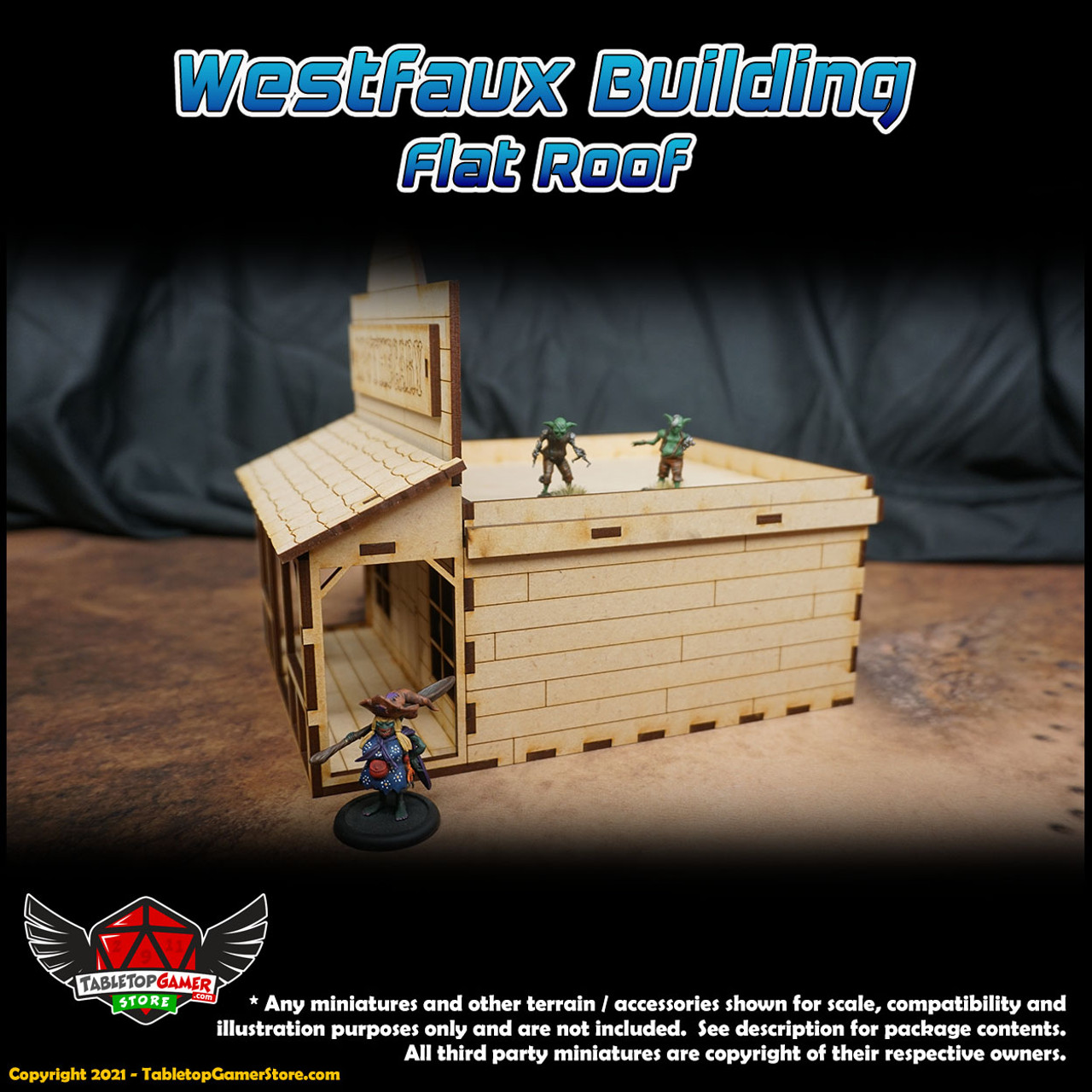 Westfaux Old-West Themed Building