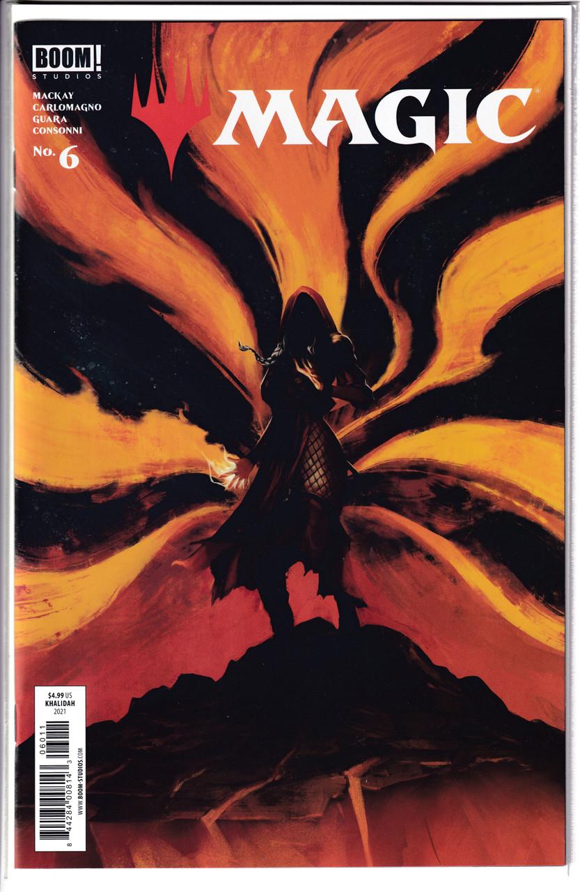 Magic the Gathering (MTG) #6 - Main Cover - Khalidah - Boom (2021)