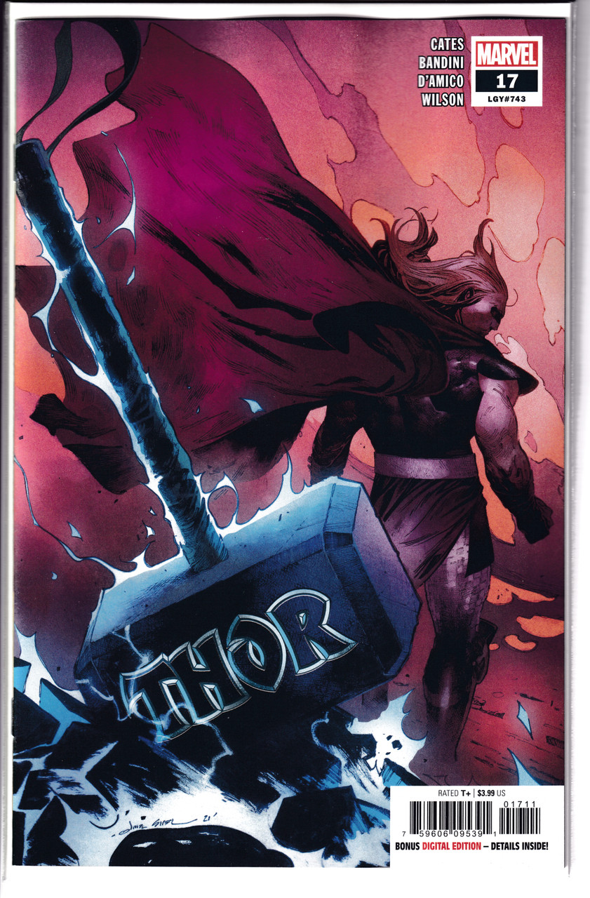 Thor #17 - Marvel Comics (2021)