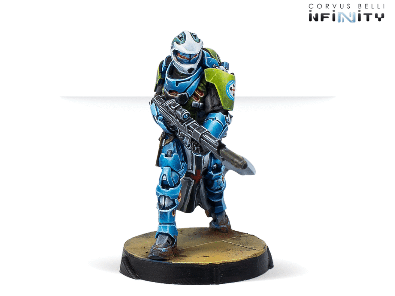 Infinity Knight of Montesa (Red Fury) - PanOceania