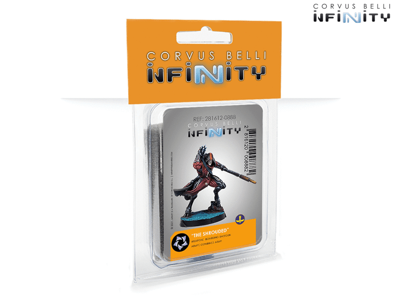 Infinity The Shrouder (Boarding Shotgun) - Combined Army