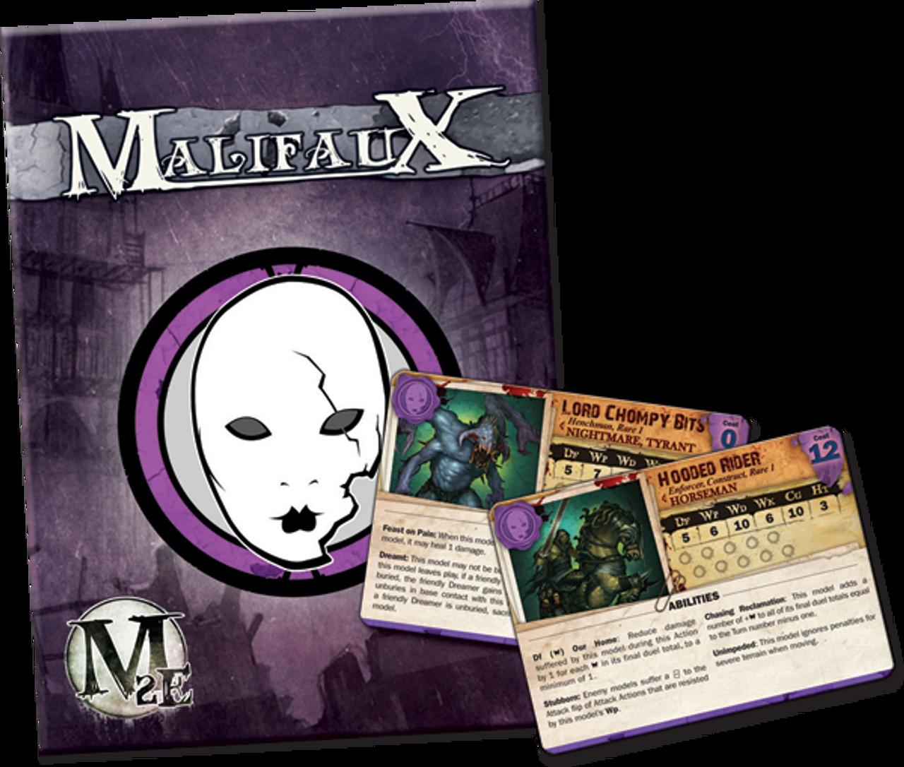 Malifaux Neverborn Wave 2 Arsenal Deck - M2E