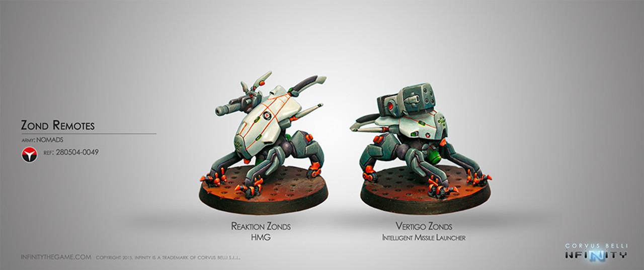 Infinity Zonds Remotes (Vertigo & Reaktion) - Nomads