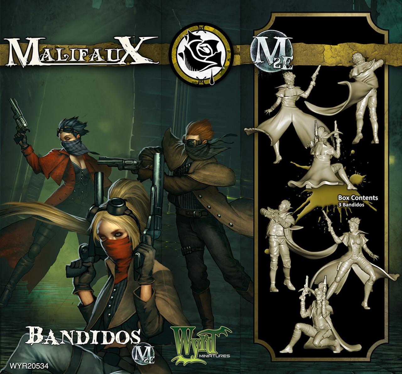 Malifaux Bandidos - Outcasts - M2E