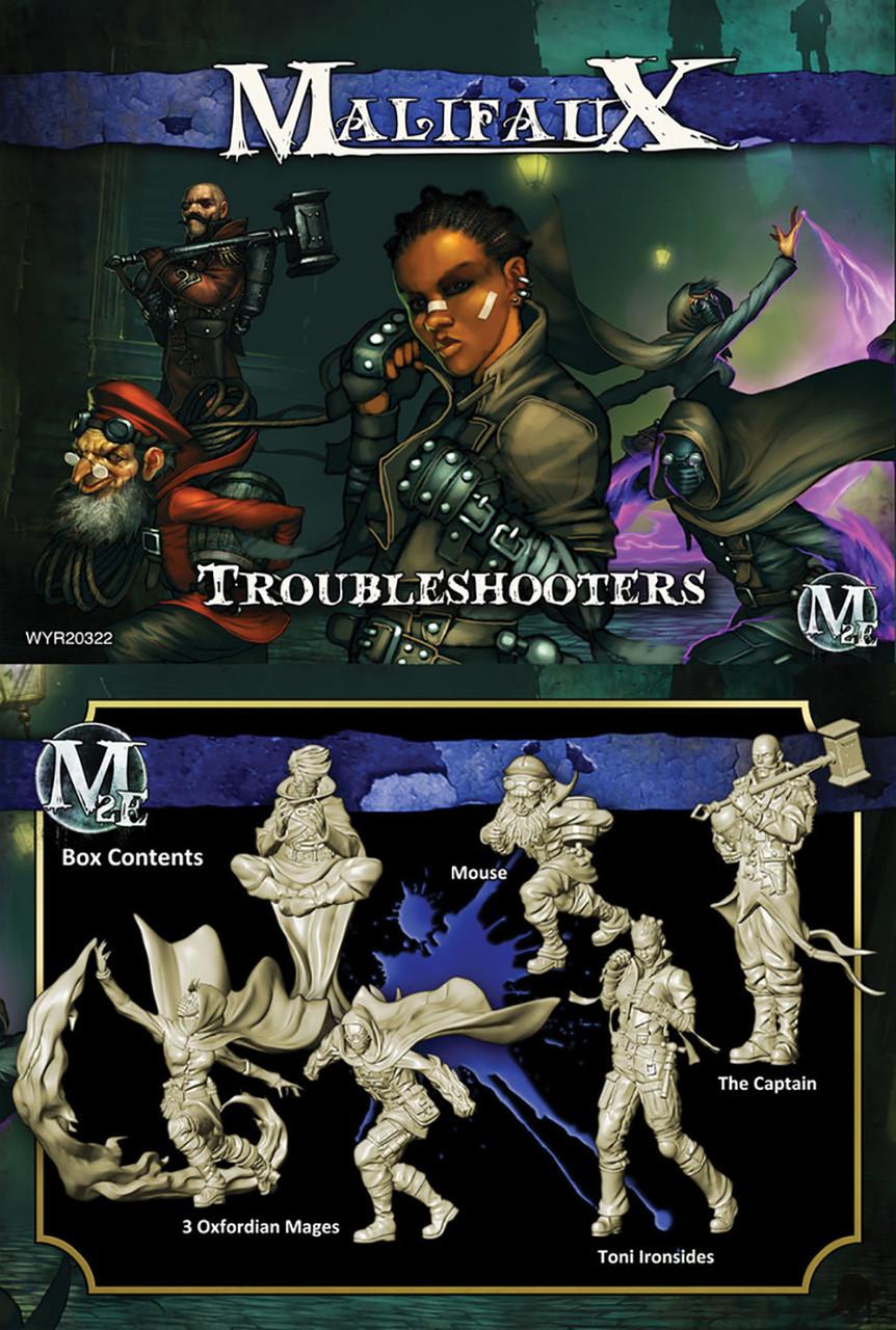 Malifaux - Troubleshooters (Ironsides box) - Arcanists - M2E