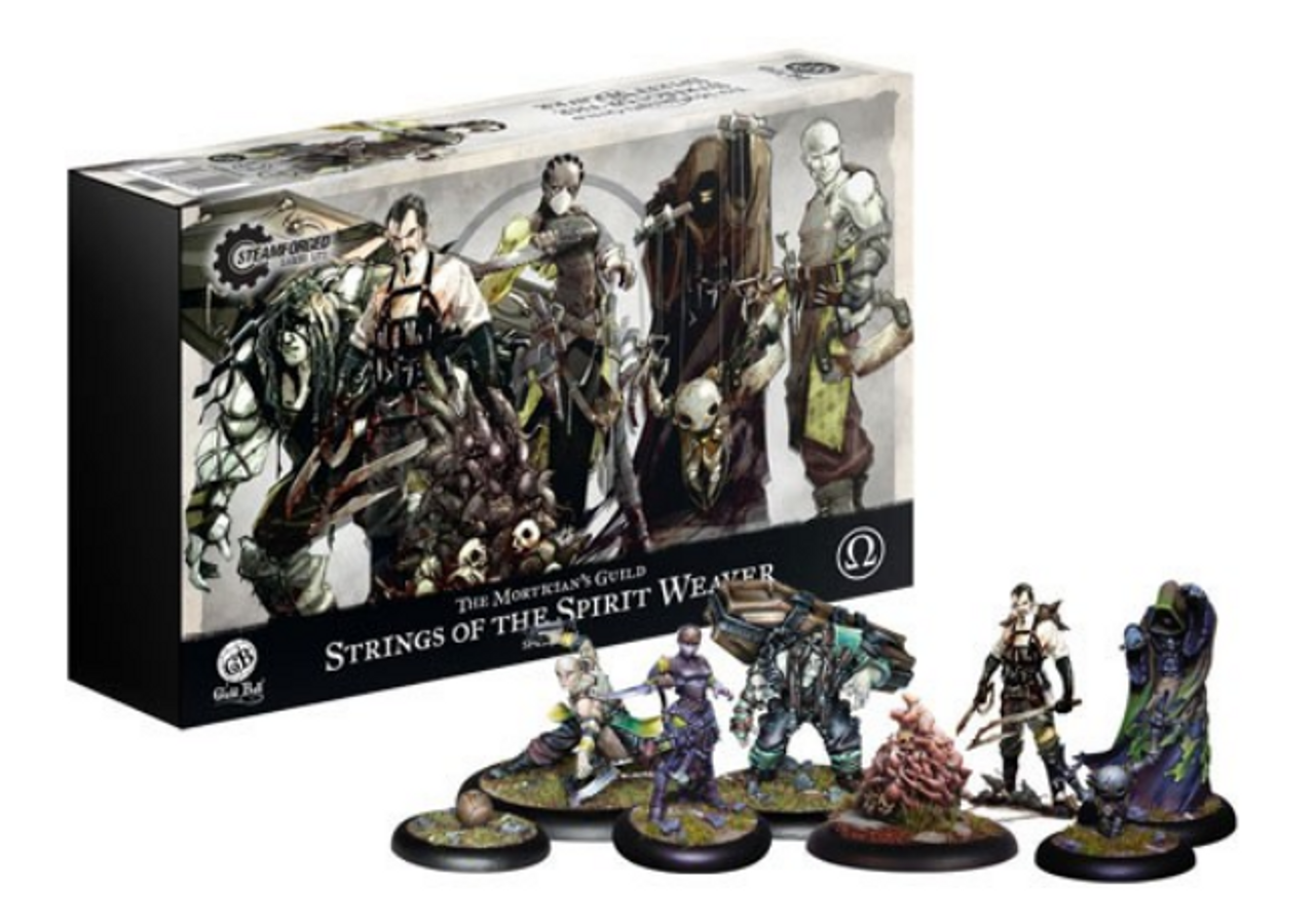 Guild Ball Mortician's Guild - Strings of the Spirit Weaver - Team Pack