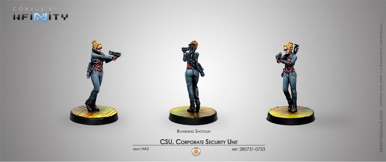 Infinity Corporate Security Unit - Boarding Shotgun - Mercenaries