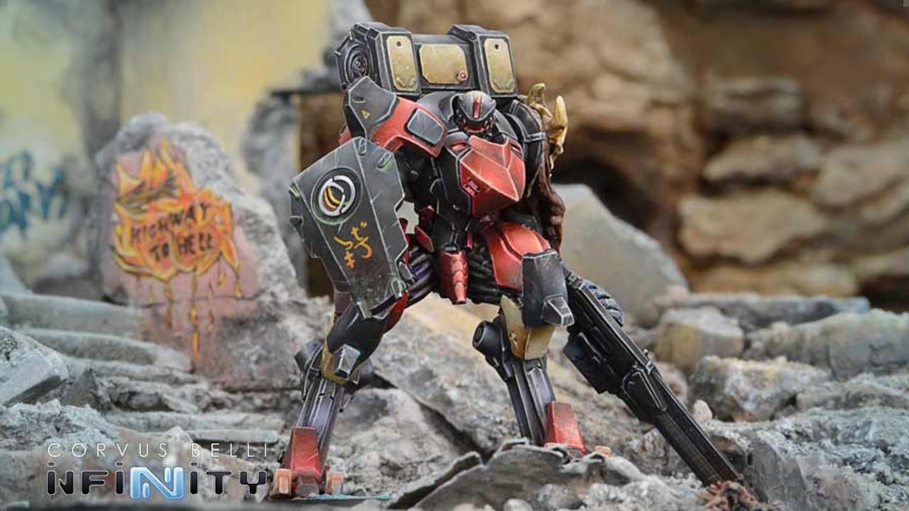 Infinity Raicho Armored Brigade Unit Box - Combined Army