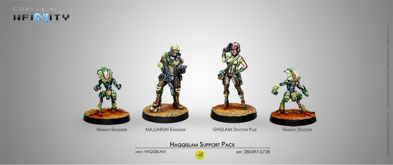 Infinity Support Pack Unit - Haqquislam