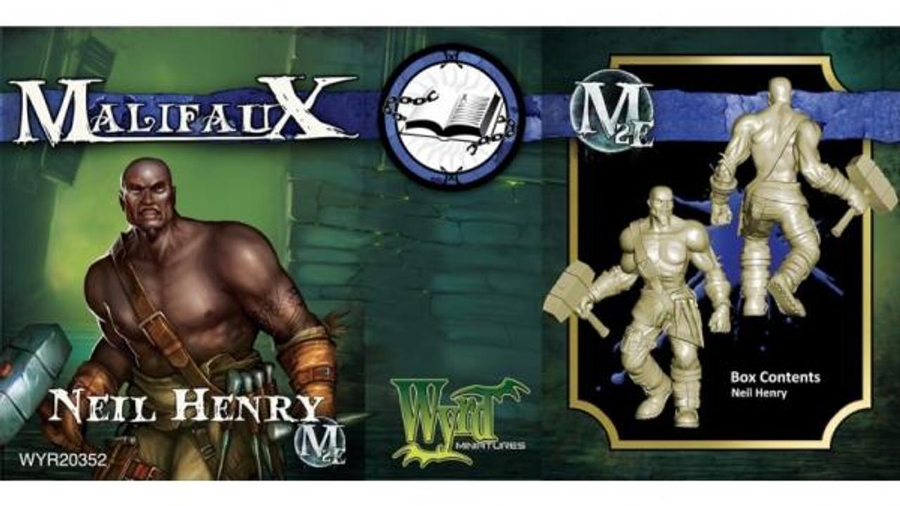 Malifaux Neil Henry - Arcanists - M2E