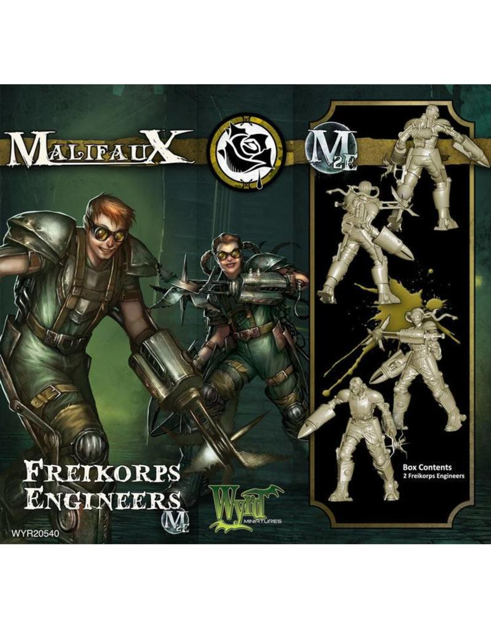 Malifaux Freikorps Engineer - Outcasts - M2E
