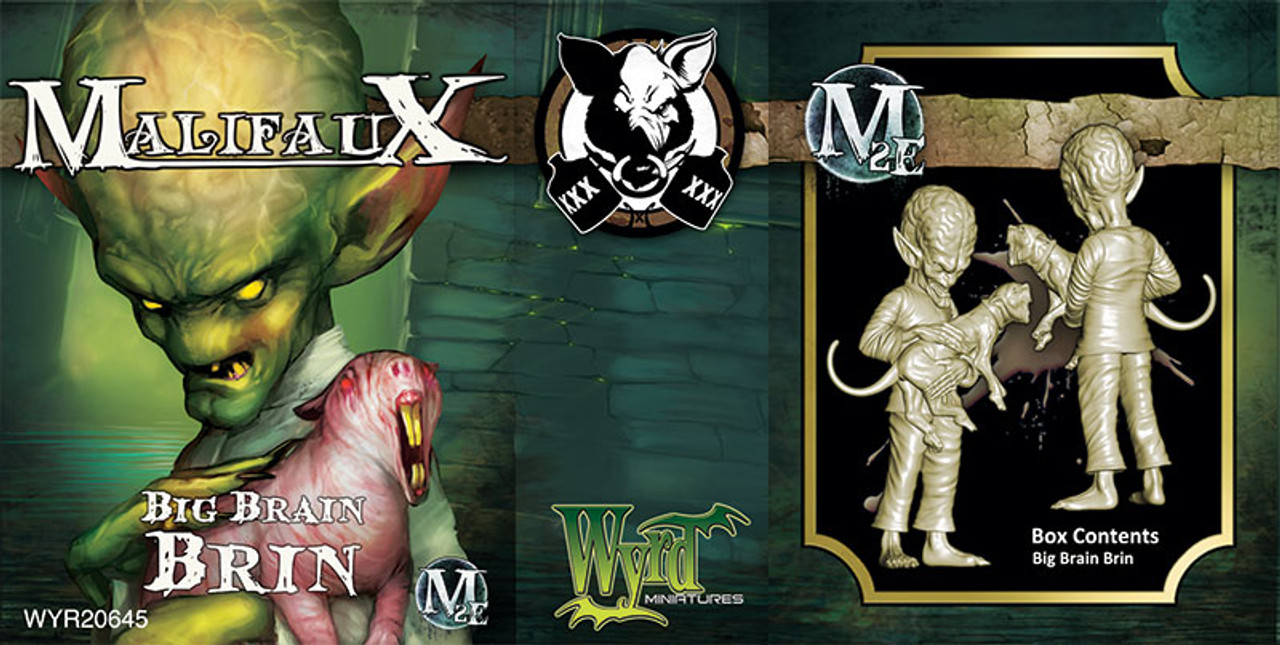 Malifaux Big Brain Brin - Ten Thunders - M2E