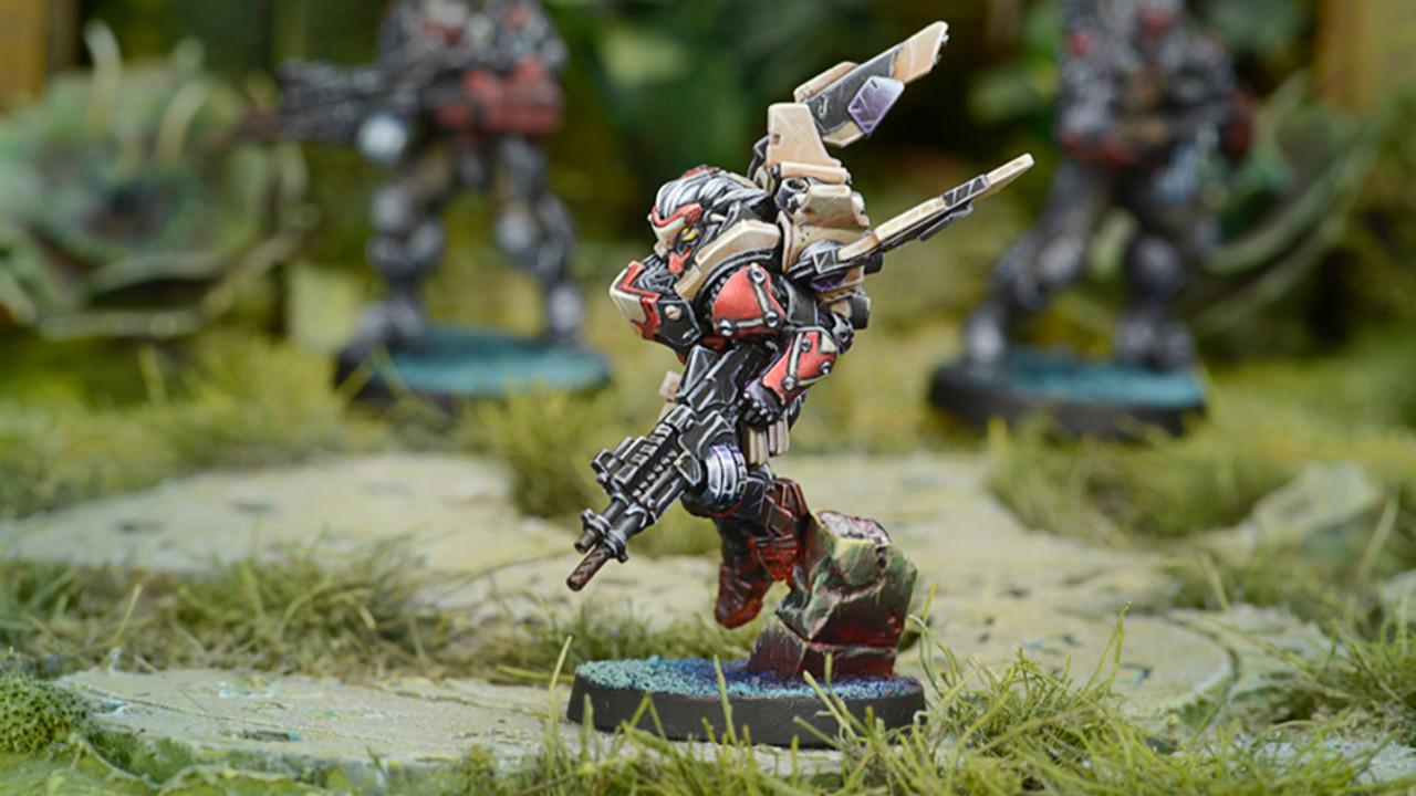 Infinity Rasyat Diplomatic Division (Boarding Shotgun) - Combined Army