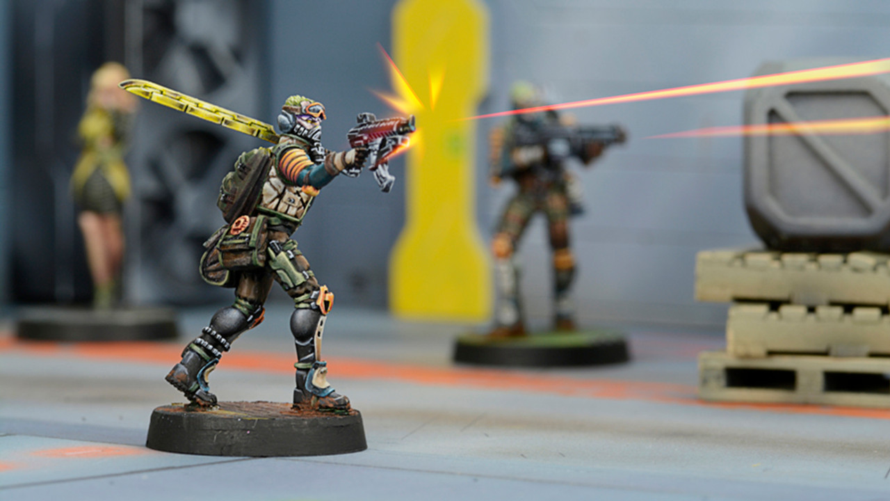 Infinity Cube Jagers, Mercenary Recoverers (SMG) - NA2