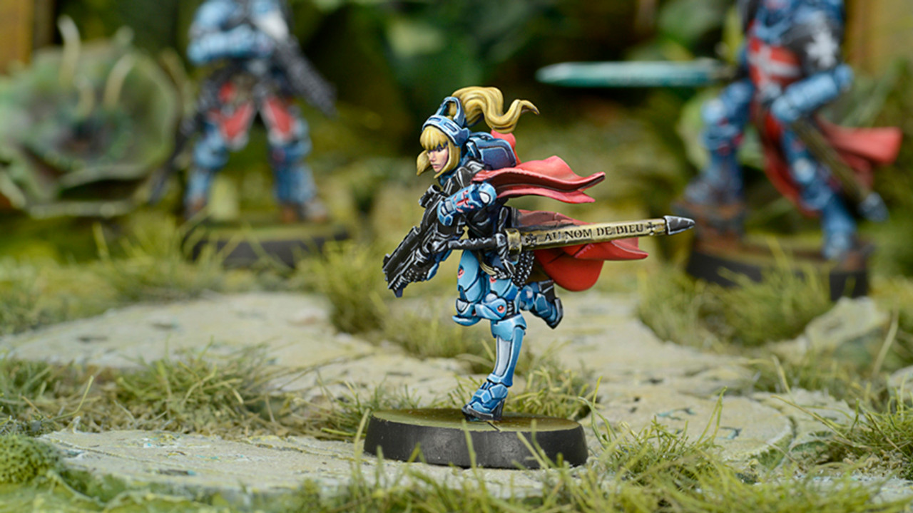 Infinity Jeanne D'arc (Mobility Armor / Spitfire) - Panoceania