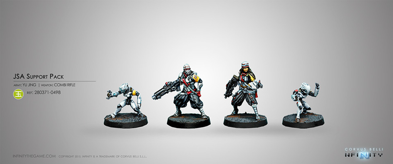 Infinity JSA Support Pack - Yu Jing