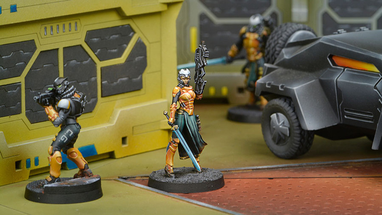 Infinity Imperial Agent Pheasant Rank (Red Fury) - Yu Jing