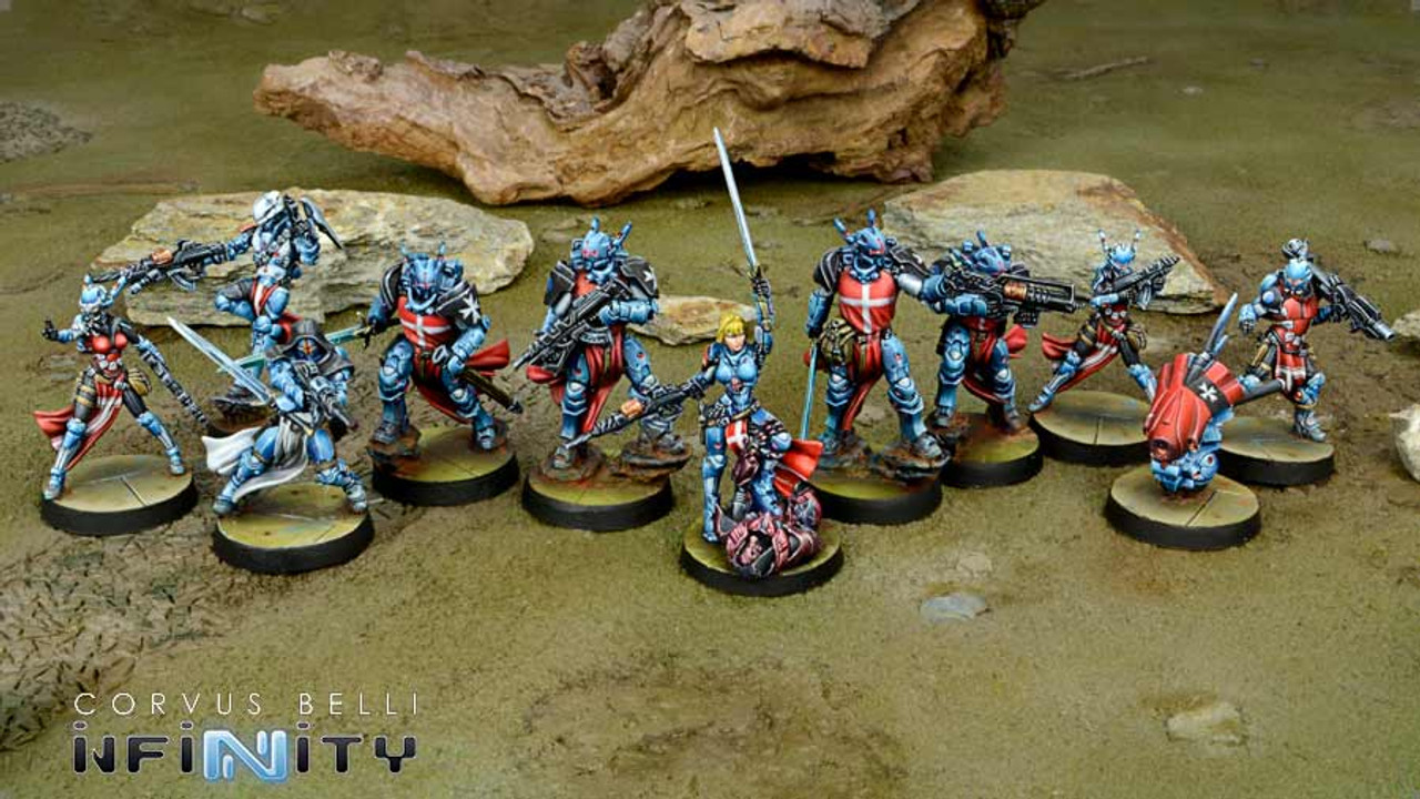 Infinity Military Orders 300 Point Pack - PanOceania