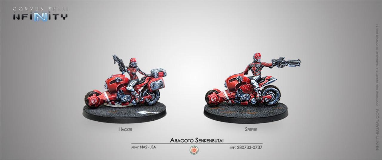 Infinity Aragoto Senkenbutai - Non Aligned Armies NA2