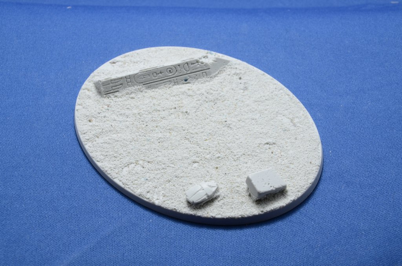 Elriks Egyptian Ruins Round Bases - 120x92mm - Oval - 1 Pack